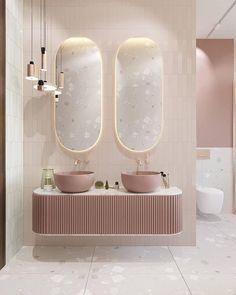 Salon Interior Design, Interior Design Living Room, Interior Ideas, Interior And Exterior, Ideal Bathrooms, Small Bathroom, Bathroom Ideas, Color Concept, Toilet Design