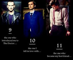 I will ALWAYS love the Doctor.