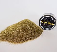 Gold Dust Makeup Glitter EyeShadow  5g Jar  Eye by CRUSHCOSMETICS, $6.00