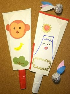 牛乳パックで作るのに、フニャフニャしない、しっかりした羽子板! 身近にあるものだけで作れるのがうれしい♪ お正月に作って遊んで楽しんじゃおう!