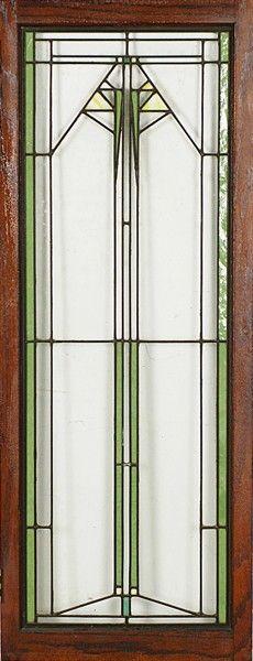 Frank Lloyd Wright Window Designs | 241: Frank Lloyd Wright Window 1911