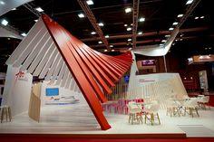 Trasmediterránea's stand at Fitur, created by ACCIONA Producciones y Diseño, has been awarded