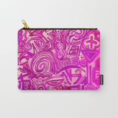 Rose Symbols Carry-All Pouch Monedero o portamaquillaje