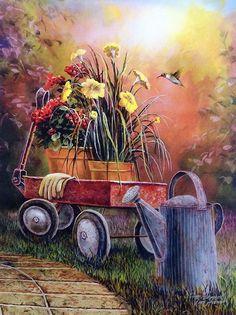 Jim Hansel Summer Blooms