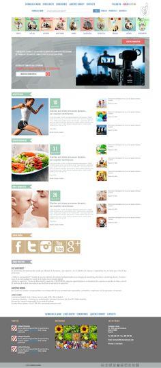 new site design flat design, html 5 layouts