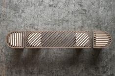 TRACKS banc et tabourets par Dan Yeffet  #design #furniture #banc #bench