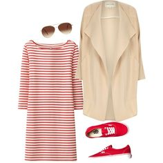 redish by anais-bouzidi on Polyvore featuring polyvore fashion style Uniqlo River Island Vans Eloquii