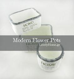 keramika kaspo Flower Pots, Soap, Garden, Modern, Flower Vases, Plant Pots, Garten, Trendy Tree, Lawn And Garden