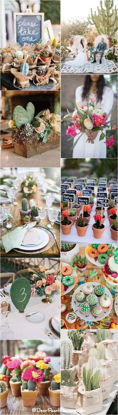 Tips For A Dreamy Wedding Ceremony You'll Never Forget Brunch Wedding, Wedding Table, Rustic Wedding, Baby Shower Decorations, Wedding Decorations, Perfect Wedding, Dream Wedding, Joshua Tree Wedding, Cactus Wedding