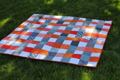 Quilting is more fun than Housework...: Scrap-A-Palooza! Quilt #4 Finish (Part Three)