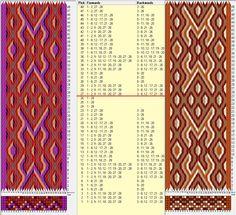 28 tarjetas hexagonales, 5 colores, repite cada 26 movimientos // sed_515_c6 diseñado en GTT༺❁