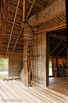 Ede Long House, Vietnamese Museum of Ethnology, Hanoi