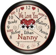 16 Best Personalized Clocks Ideas Personalized Clocks Southern Gift Personalized Gifts