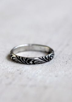 Renaissance pattern ring - praxis jewelry