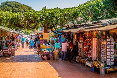 Olvera Street Downtown - a cool place to explore in Downtown Los Angeles, California