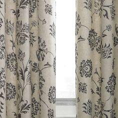 Linden StreetTM Madeline Rod Pocket Curtain Panel
