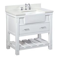 Main Image Zoomed Farmhouse Vanity Single Bathroom Vanity 36