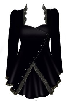 Blueberry Hill Fashions : Gothic Corset Laced Top - Plus Size Fashions