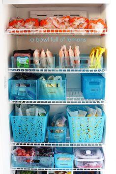 24 best chest freezer images deep freezer organization organize rh pinterest com