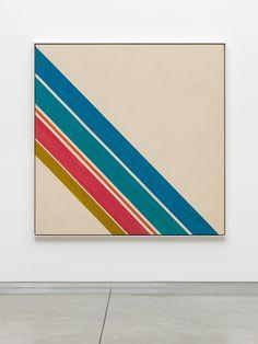 ART BLOG ART BLOG: SAM GILLIAM: Hard-Edge Paintings 1963 - 1966 @ DAVID KORDANSKY GALLERY