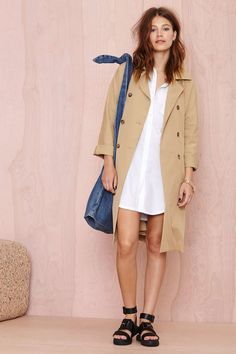 Going Blank Tunic   Shop Tops at Nasty Gal