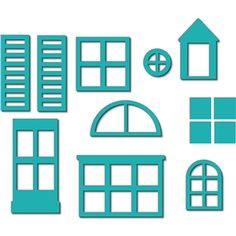 Silhouette Design Store: build a house - windows