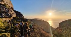 Getting ready to capture a stunning sunset over the sea! Table Mountain, Cape Town, South Africa, Bts, Sunset, Landscape, Nature, Travel, Life