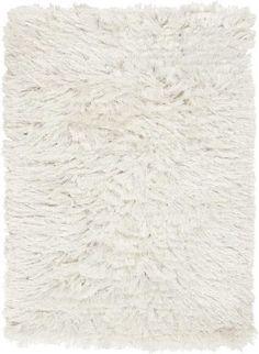Surya Candice Olson Design Whisper Shag Hand Woven Polyester Rugs - Ivory