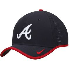 f1482cc83c299 Sports Shop has Men s Nike Navy Atlanta Braves Vapor Classic Performance  Adjustable Hat plus easy flat rate shipping!
