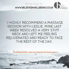 Stiff Neck, Facial Massage, England, Feelings, Day, English, British, United Kingdom