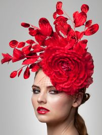 Arturo Rios Kate Fascinator Hat