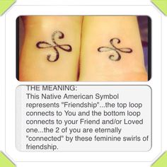 Great Matching Cousin Tattoos Design Ideas - Creative Maxx Ideas - If picking a tattoo must be special because you'll have it for the remainder of your life, pickin - Friendship Symbol Tattoos, Friendship Symbols, Matching Friendship Tattoos, Friendship Images, Frienship Tattoos, Friend Tattoos Small, Small Tattoos, Best Friend Symbol Tattoo, Sister Symbol Tattoos