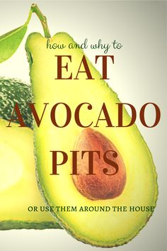 how to make avocado seed powder