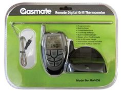 Programmable   Built in timer   5 meat selections   5 cooking settings   Built in LED flashlight   Beeps when food is ready   Wireless with up to 30 meter range   Instruction manual included   Includes 4 x AAA batteries