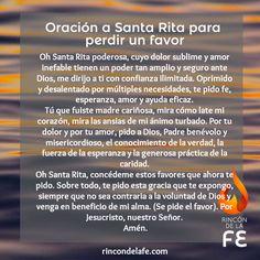 Reza la Oración a Santa Rita de Casia, patrona de las causas imposibles, para pedir un favor, conseguir aquello que más deseas y seguir su ejemplo de fe.