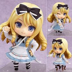 AmiAmi [Character & Hobby Shop] | [w/First Release Bonus Serial Code] Nendoroid - Alice(Preorder)