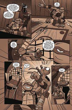 Turtle Training in TMNT Amazing Adventures #4