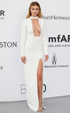 Gigi Hadid from 2015 amfAR Gala: Star Arrivals at the Cannes Benefit | E! Online