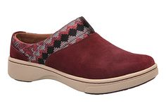 Perfect for your on the go lifestyle, slip on the Dansko Brittany in  Raisin Suede!