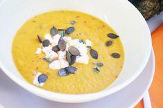 Kürbiscreme-Suppe #kürbis #pumpking #suppe #soup #paleo #paleodiet…