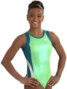 Athletic Gymnastics Leotard from GK Elite. Love these colors