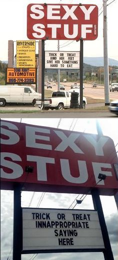 Sex Store forced to change their sign after locals get their panties in a twist