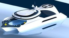 Celestis Luxury Yacht By Aviv Nair