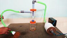 como fazer coletor de pó ciclone para aspirador de pó