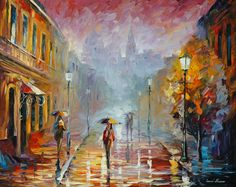 NOVEMBER RAIN - AFREMOV by Leonidafremov.deviantart.com on @deviantART