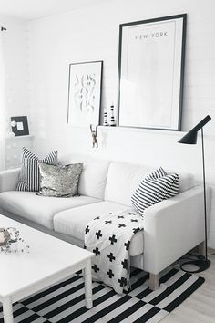 Black & white basics from IKEA | The Design Chaser via noepahjertet
