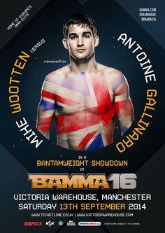 Mike Wootten Vs Antoinne Galinaro #BAMMA16 #MMA #MixedMartialArts #UFC #BAMMA