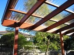 Replace flat roof on south deck Pergola with vinyl roof