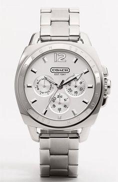 e18d61fe0b COACH  Boyfriend  Bracelet Watch