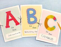 Printable Alphabet Book - Mr Printables